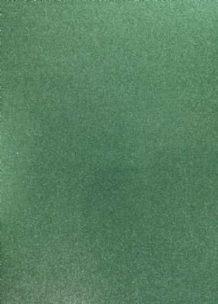 Green Non-Shed Glitter Card 285gsm